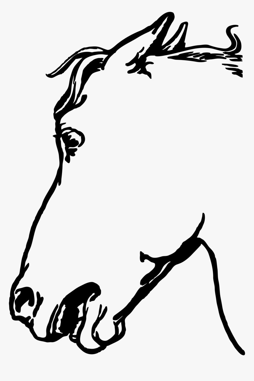 Horsehead Clip Arts Gambar Sketsa Kepala Kuda HD