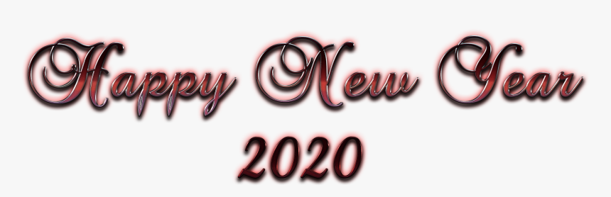 Happy New Year 2020 Transparent Background New Year 2020
