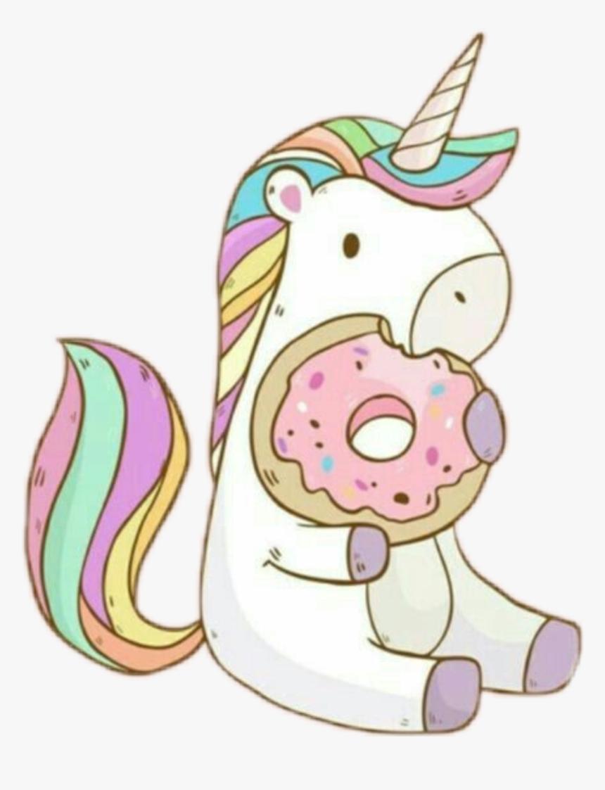 Cute Tumblr Donut Drawing Png Tumblr Donut Drawing Unicornio Con Una Dona Transparent Png Transparent Png Image Pngitem
