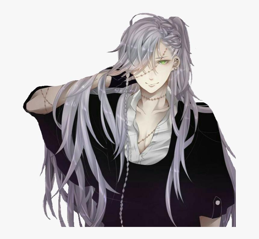 Transparent Black Butler Png Anime Guys With Long Silver Hair Png Download Transparent Png Image Pngitem