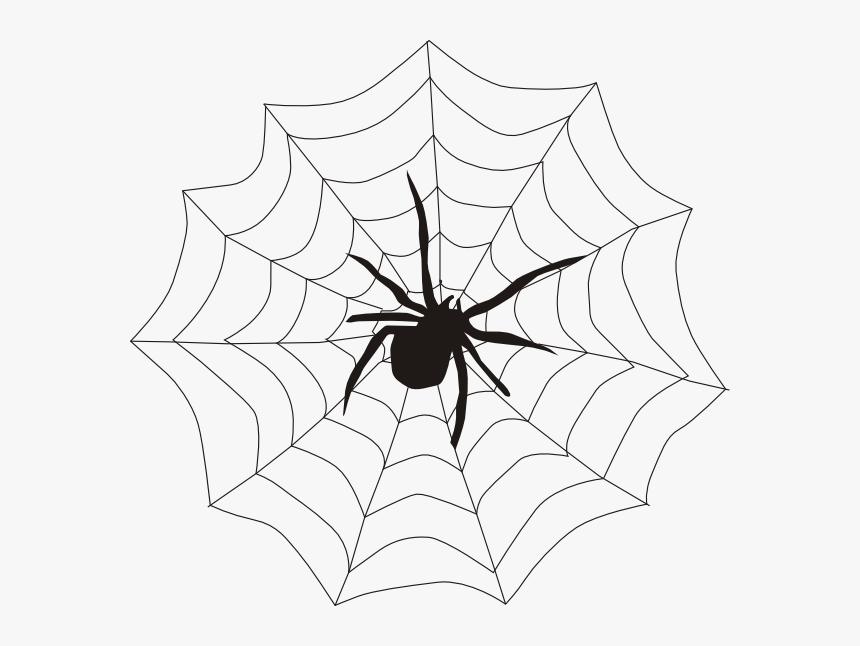 Halloween Spider Clipart.Halloween Spider Web Clipart Spider On A Web Hd Png Download Transparent Png Image Pngitem