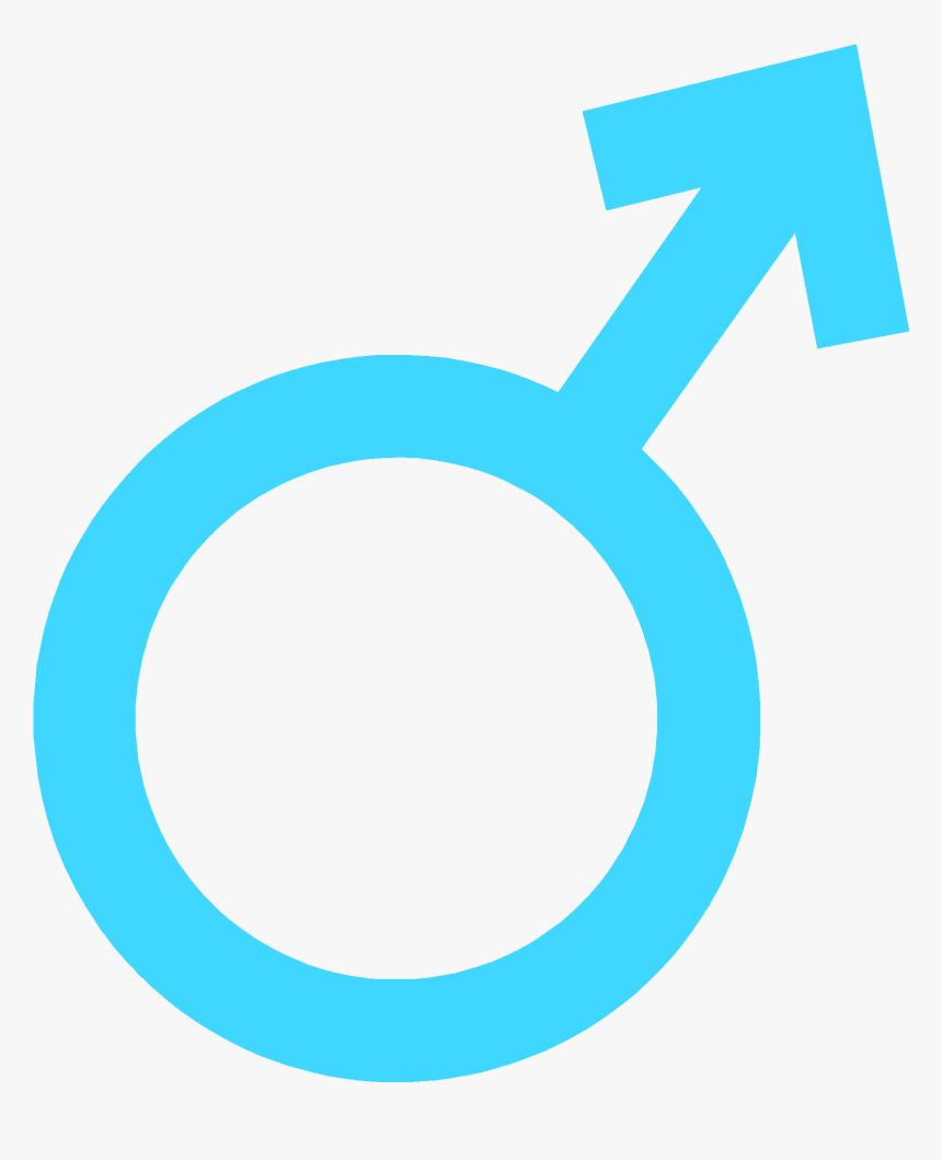 Male Sex Symbol Blue Clipart , Png Download - Sex Symbols