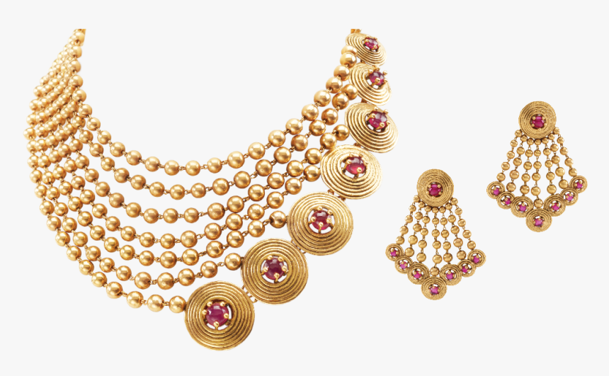 Indian Gold Jewellery Necklace Sets Png Modern Necklace Designs