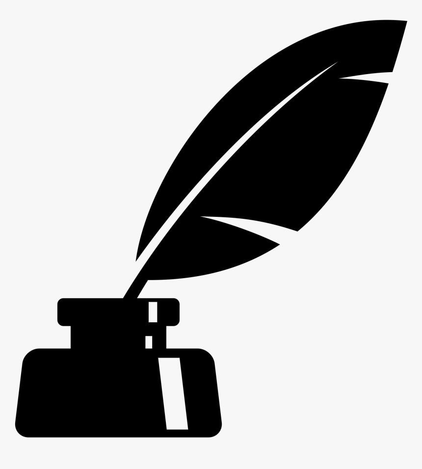 Quill Inkwell Paper Pen, quill, angle, ink, white png   Klipartz