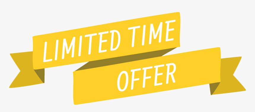 Transparent Limited Time Offer Png, Png Download , Transparent Png Image -  PNGitem