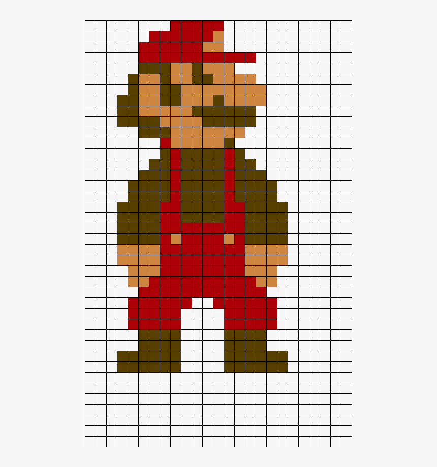 Big Mario Pixel Art Hd Png Download Transparent Png Image