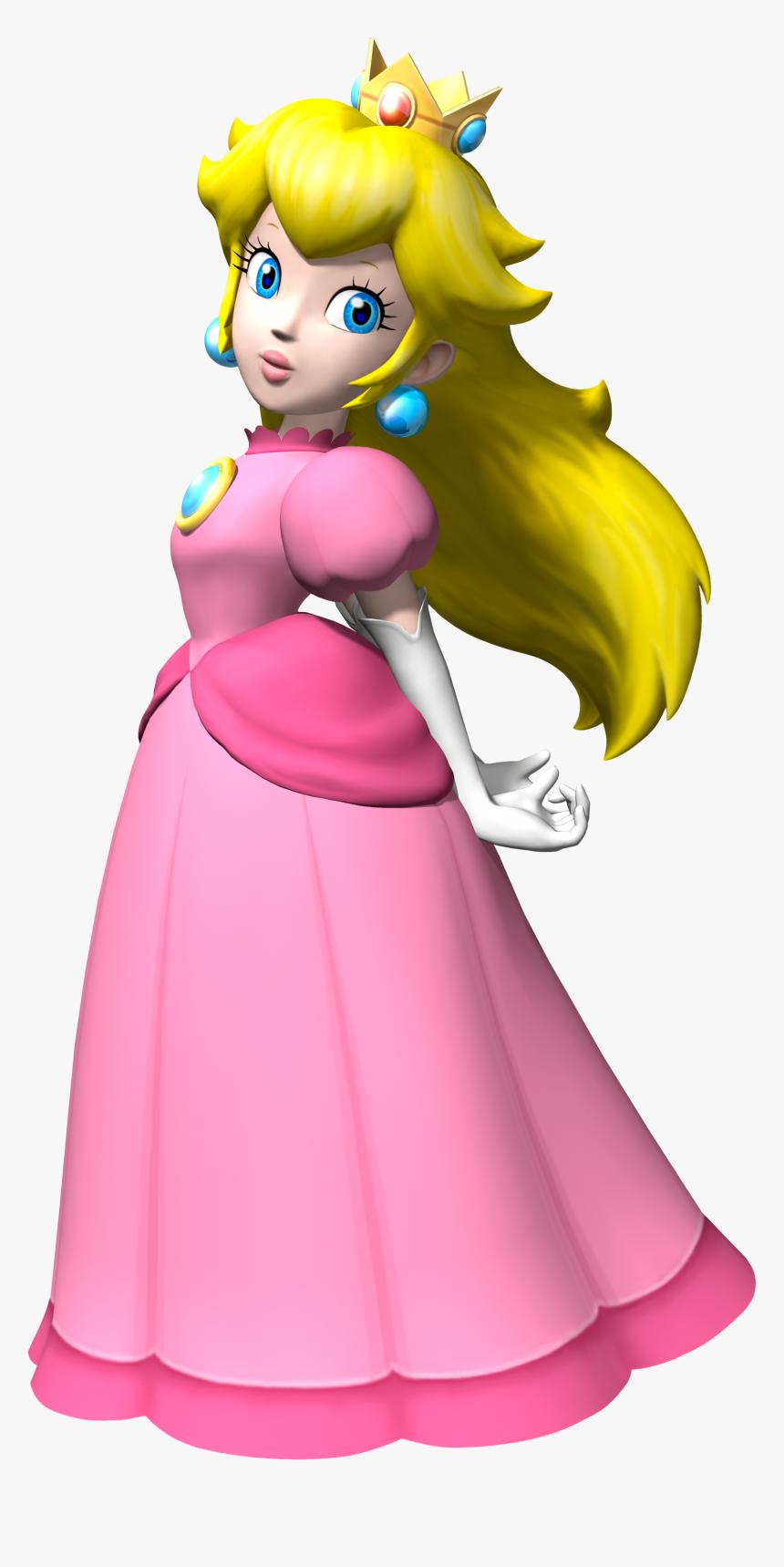 Princess Peach Png Mario Kart Wii Peach Transparent Png