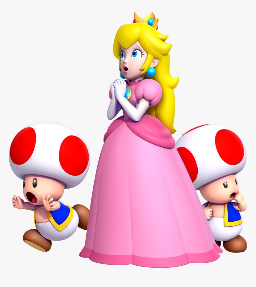 Princess Peach Princess Peach New Super Mario Bros Hd Png