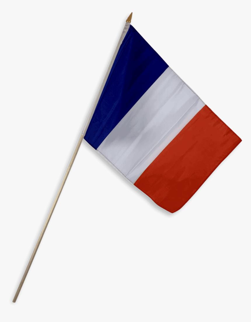 Ru Flag France Flag 12 X 18 Inch On Stick French Flag On Pole Hd Png Download Transparent Png Image Pngitem