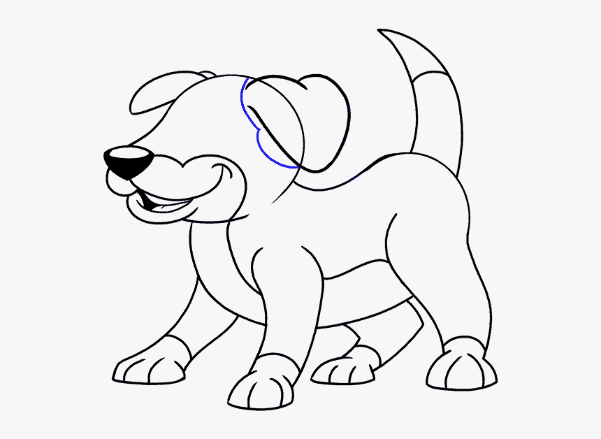 How To Draw A Cute Dog Pictures And Cliparts Download Puppy