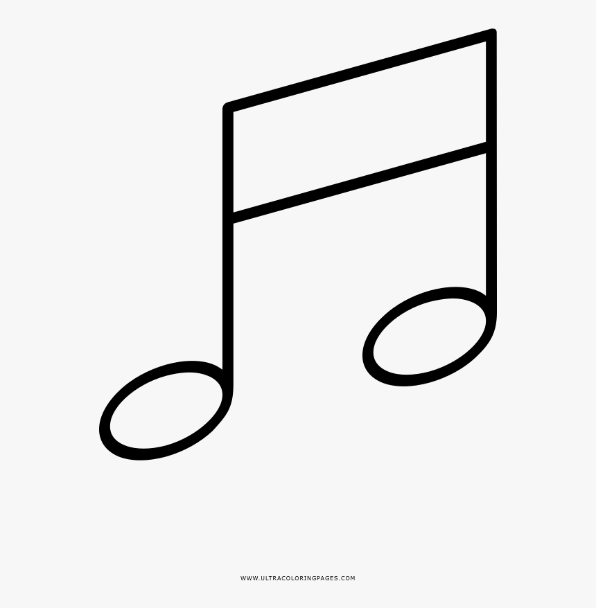 Notas Musicales Pagina Para Colorear Notas Musicais Para Colorir
