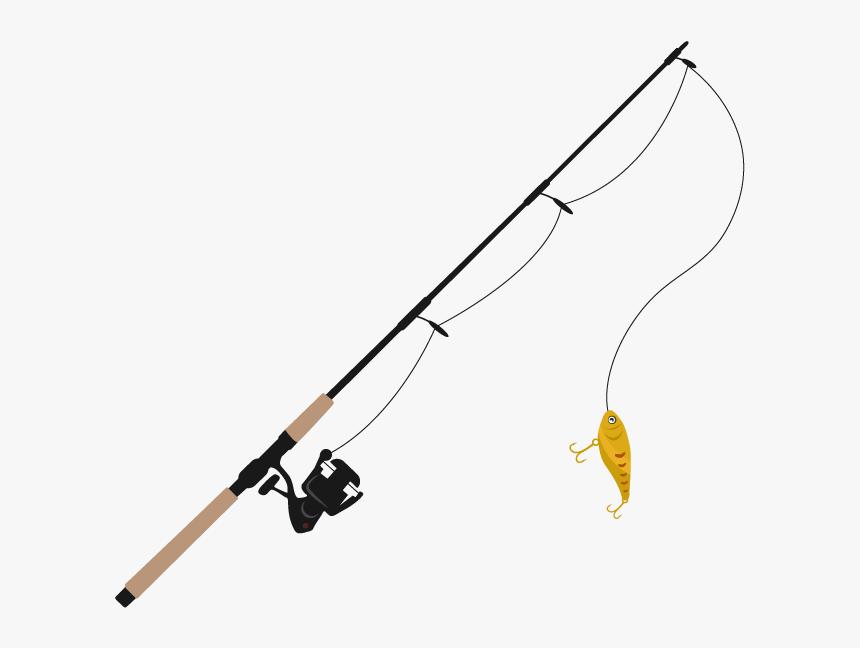 Fishing Rod Fishing Line Clip Art Transparent Background Fishing Rod Png Png Download Transparent Png Image Pngitem