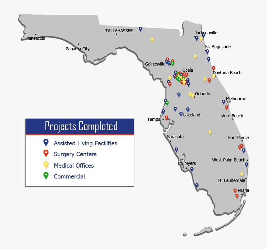 Complete Map Of Florida.Florida Map Complete Hd Png Download Transparent Png Image