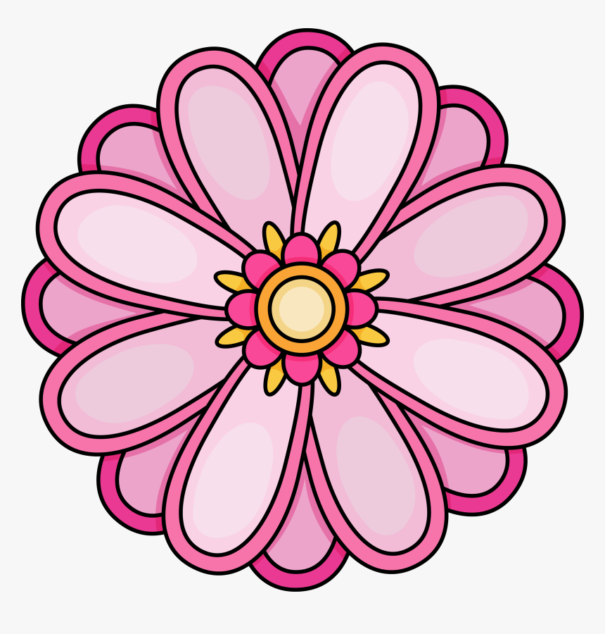 flowers to color free printables