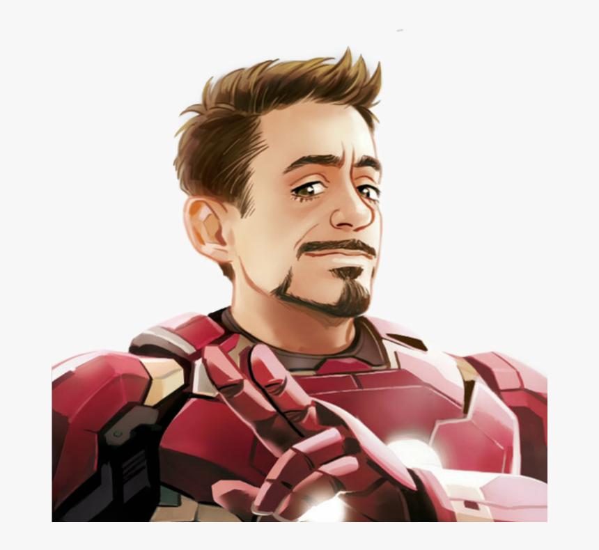 Transparent Tony Stark Png Iron Man Animated Cartoon Png Download Transparent Png Image Pngitem