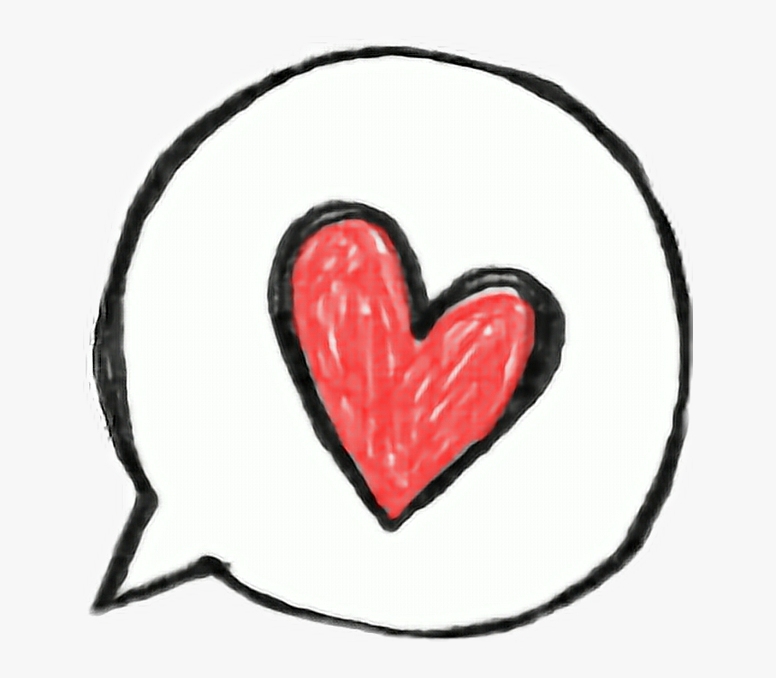 Heart Cute Red Pink Drawing Tumblr Bubbles Speech Cute Heart Drawing Png Transparent Png Transparent Png Image Pngitem