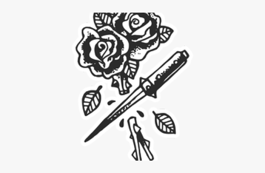 Rose Tattoo Png Transparent Images Machine Tattoo Old School Png