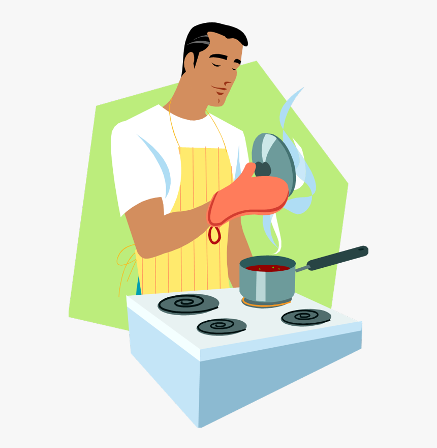 Man Cooking Png Cartoon Guy Cooking Png Transparent Png Transparent Png Image Pngitem
