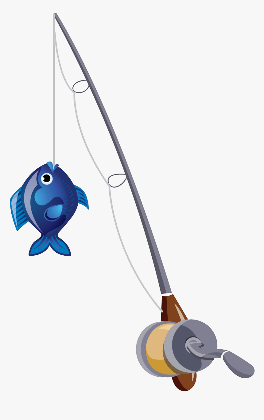 Fishing Pole Png Free Background Fishing Pole With Fish Transparent Png Transparent Png Image Pngitem