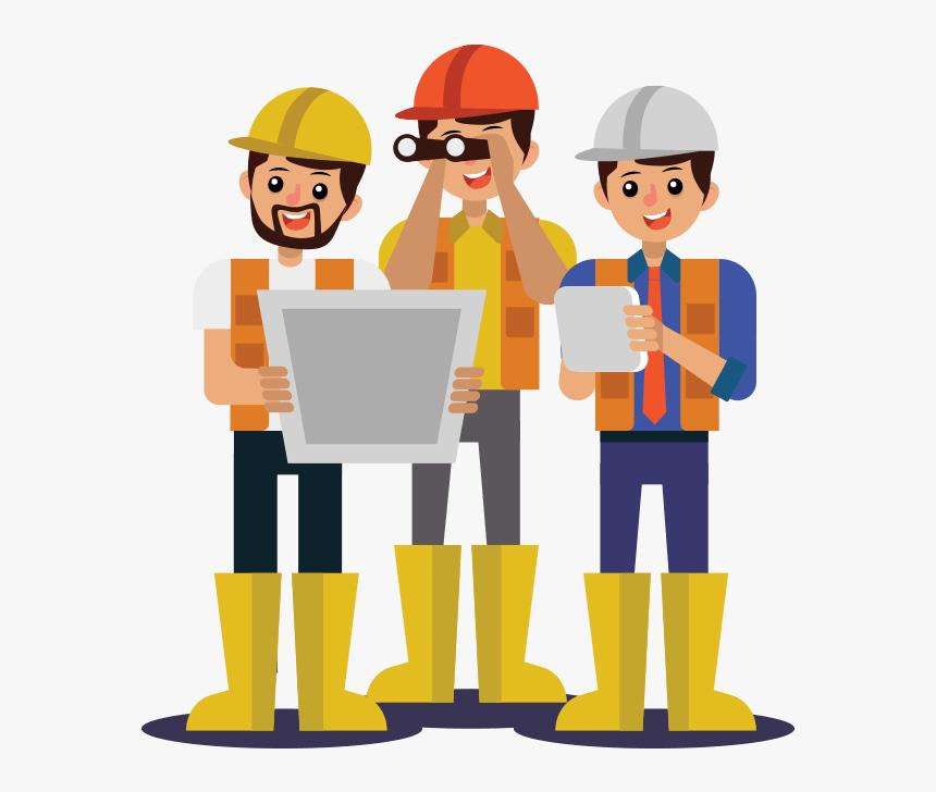 Transparent Construction Worker Clipart Construction Worker Cartoon Png Png Download Transparent Png Image Pngitem
