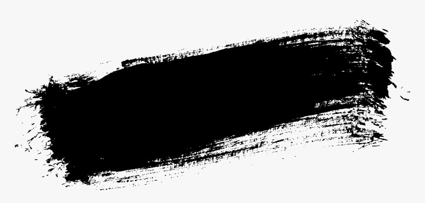 black paint png black paint stroke png - black brush stroke png, transparent