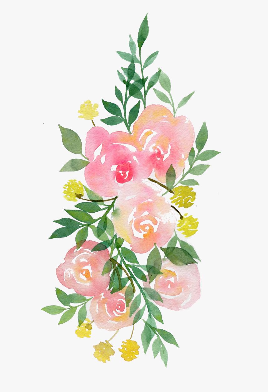 Clip Art Pinterest Watercolor Flowers Transparent Transparent