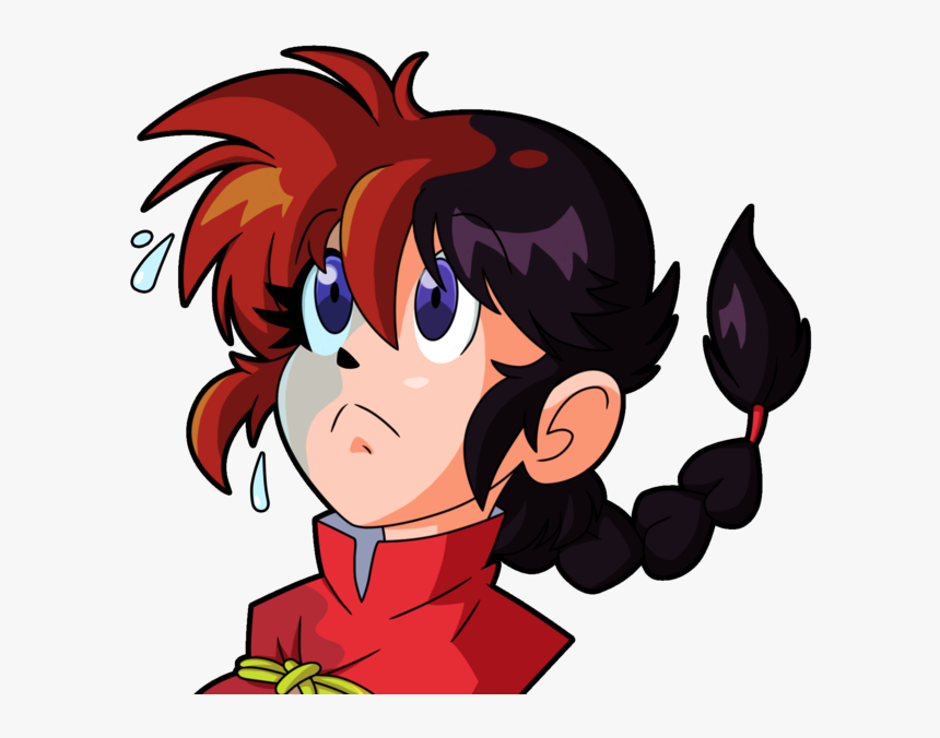 Transparent Anime Icon Png Ranma Saotome Png Png Download Transparent Png Image Pngitem