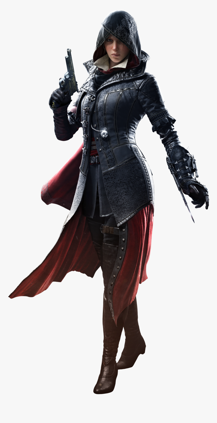 Female Assassin S Creed Characters Hd Png Download Transparent