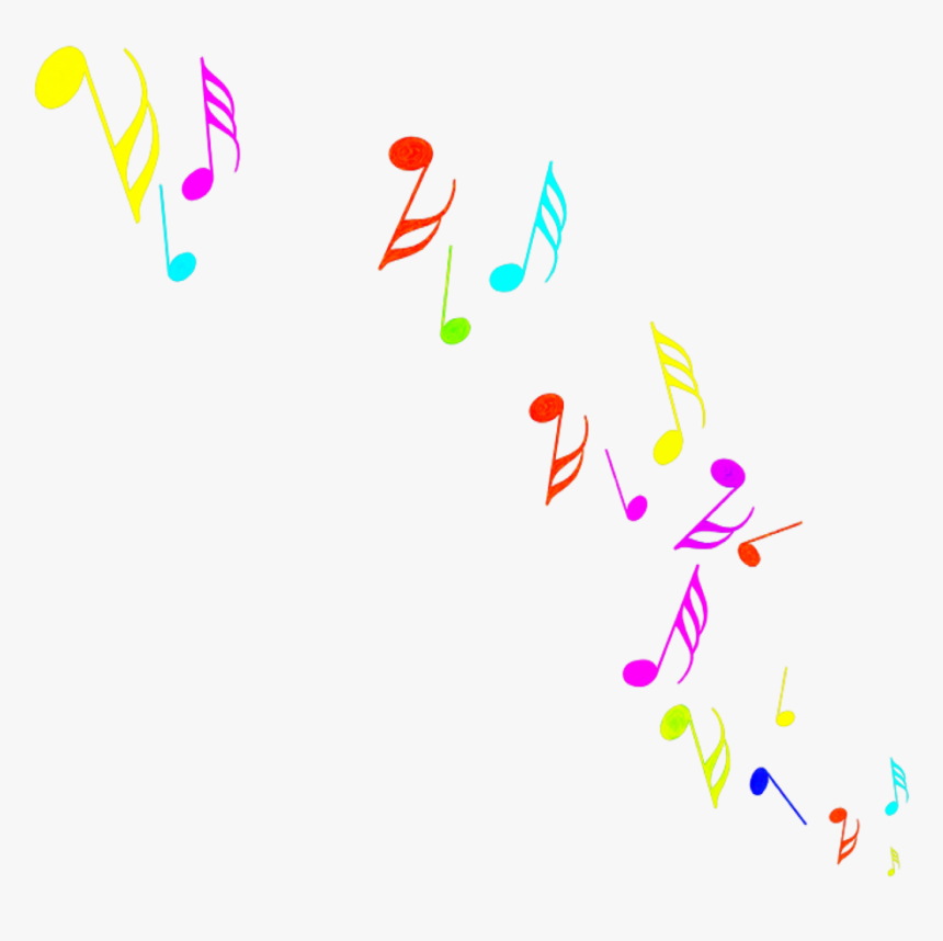 Transparent Colorful Music Clipart Colorful Music Notes Png Png Download Transparent Png Image Pngitem