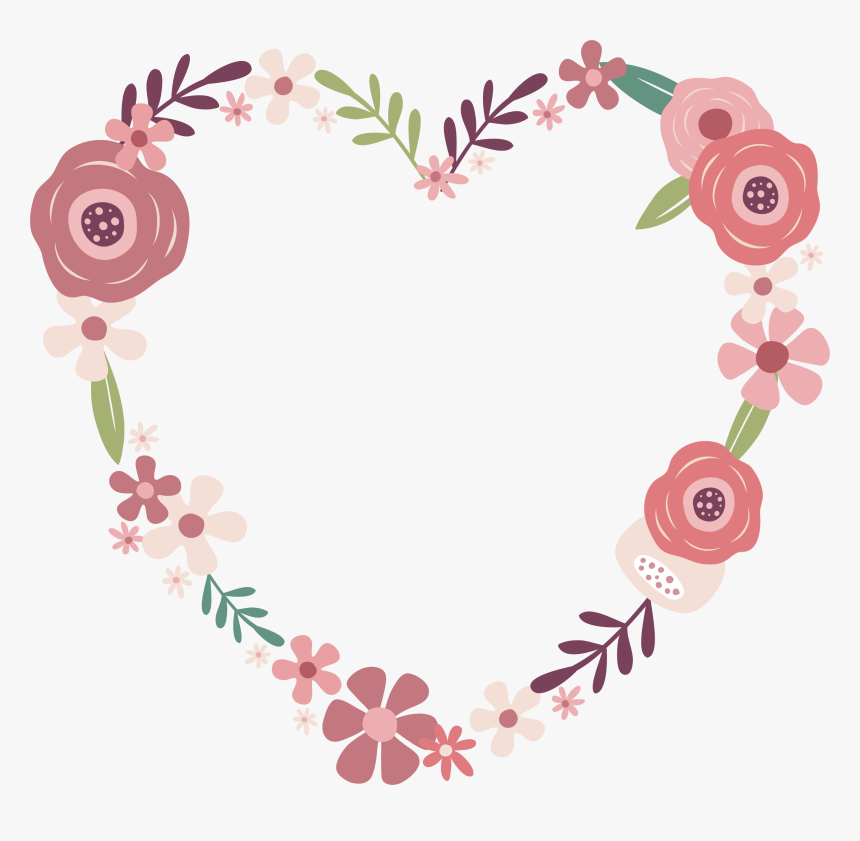 Transparent Wedding Flowers Png Dessin Couronne De Fleurs Rose