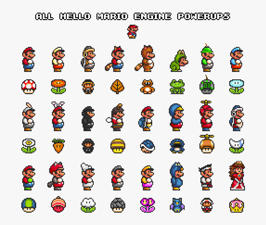 all mario characters list