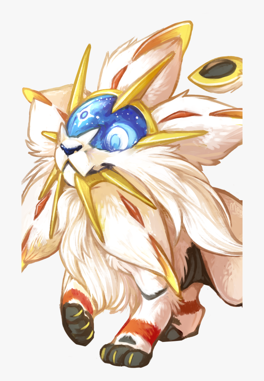 Wallpaper Pokemon Solgaleo Hd Png Download Transparent