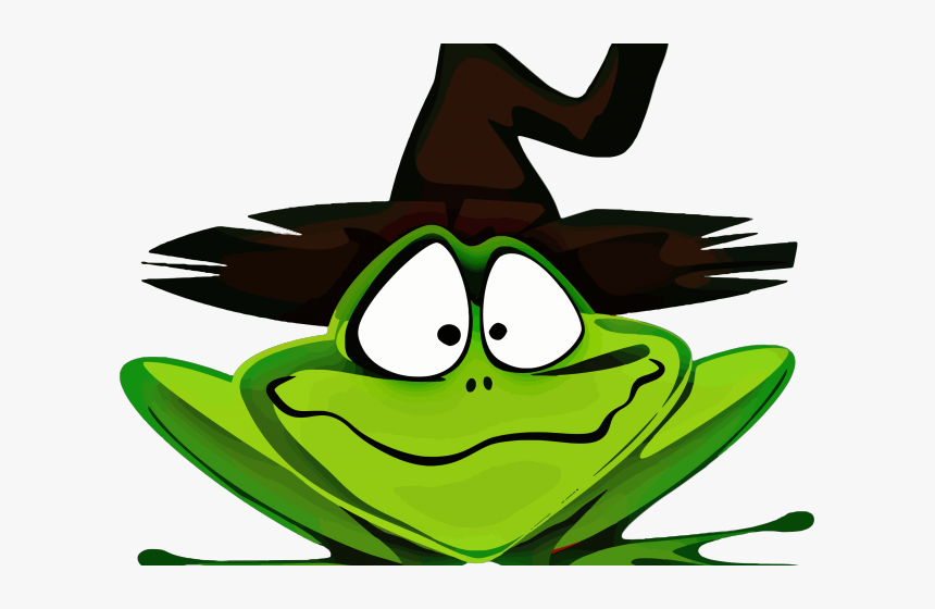 Witch Hat Clipart Witch Cauldron Halloween Frog Hd Png Download Transparent Png Image Pngitem