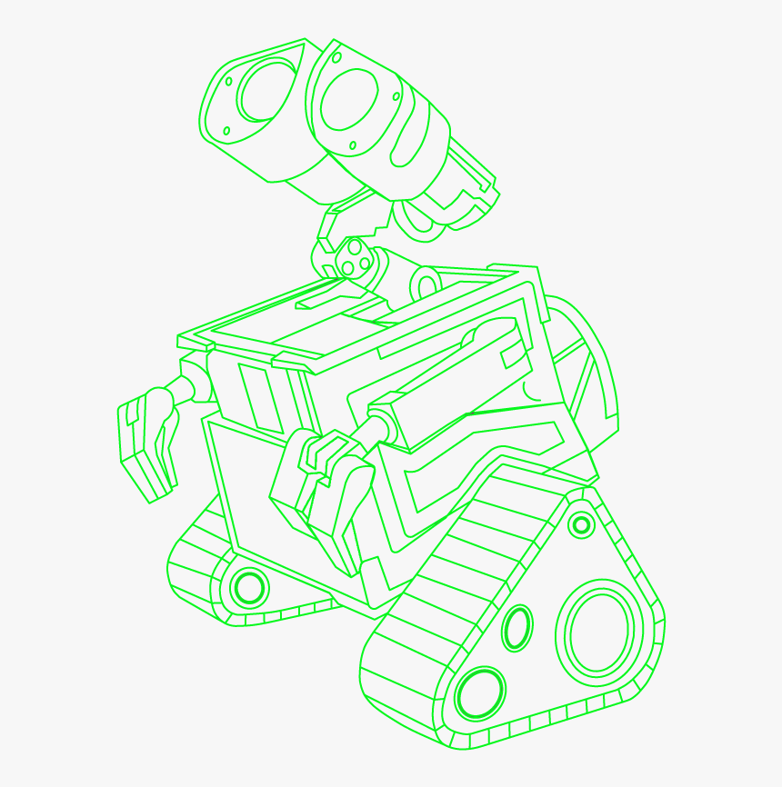 WALL-E Coloring Pages - Best Coloring Pages For Kids | 866x860