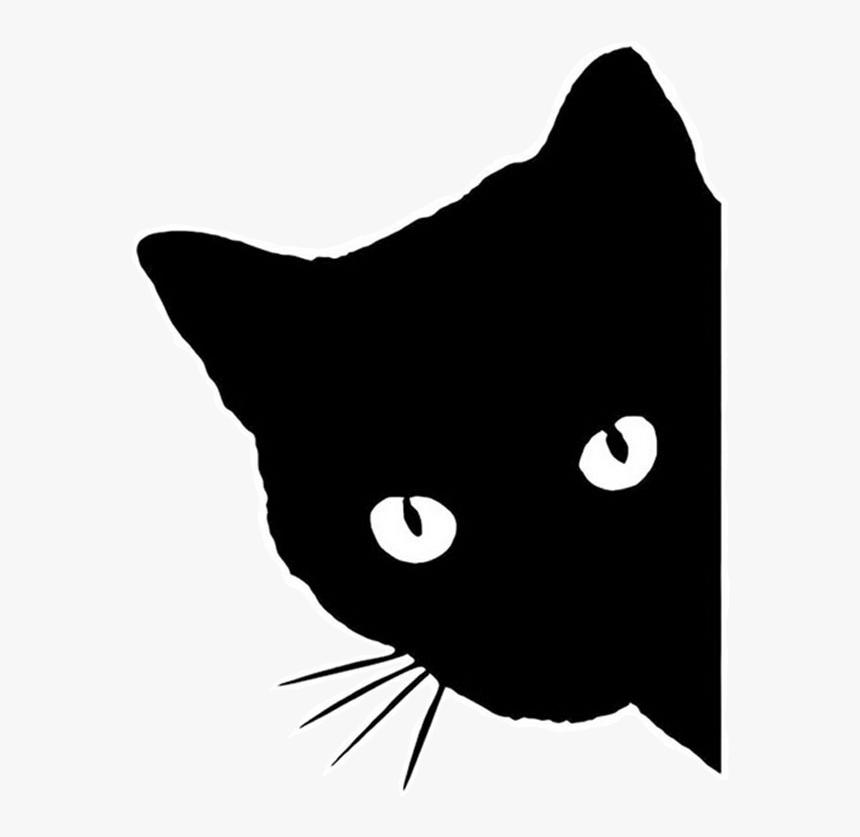Download Black Cat Kitten Clip Art Silhouette - Black Silhouette ...