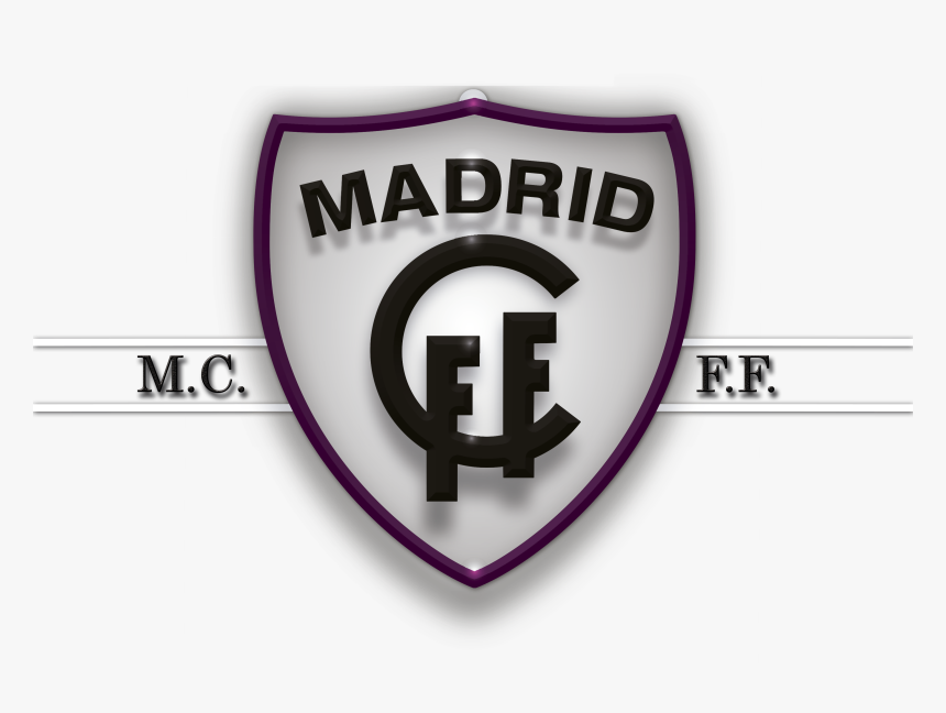 Transparent Atletico De Madrid Escudo Png Escudo Madrid Club De Futbol Femenino Png Download Transparent Png Image Pngitem
