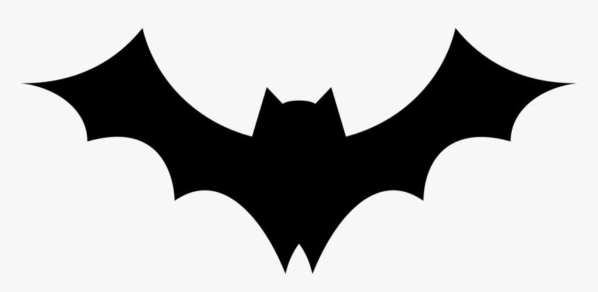 Bat,leaf,symmetry - Silhouette Bats Clipart, HD Png Download , Transparent  Png Image - PNGitem