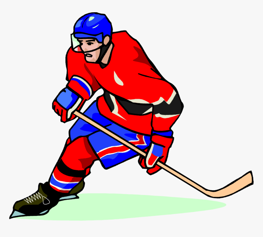 Free Hockey Player Vector Art Clip Art Image From Free Hockey Players In Cartoon Png Transparent Png Transparent Png Image Pngitem