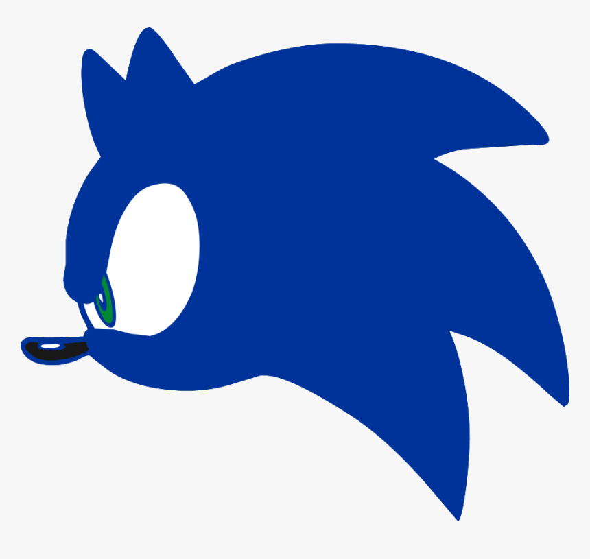 Head Sonic The Hedgehog Logo Transparent Sonic Head Hd Png