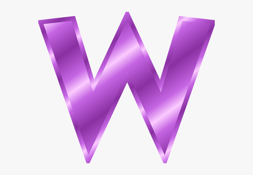 Free Letter W Cliparts - Clip Art Of Letter W, HD Png Download ...