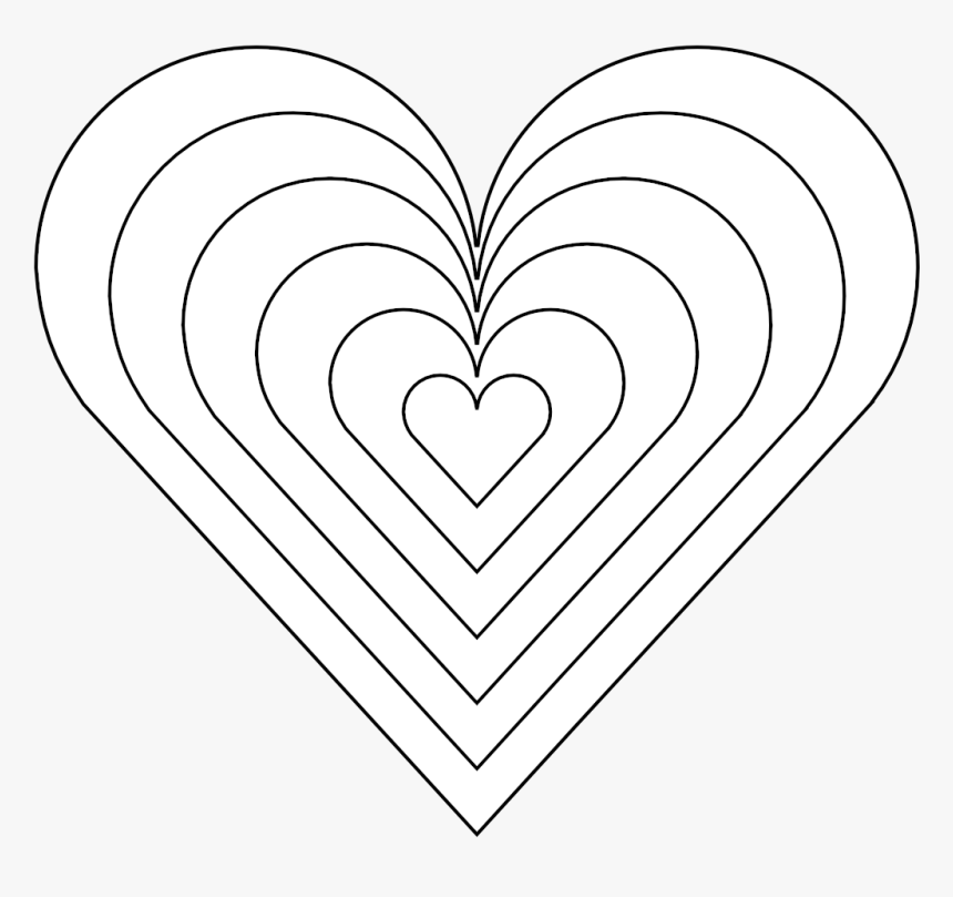 Free Printable Heart Coloring Pages For Kids | Heart coloring ... | 809x860