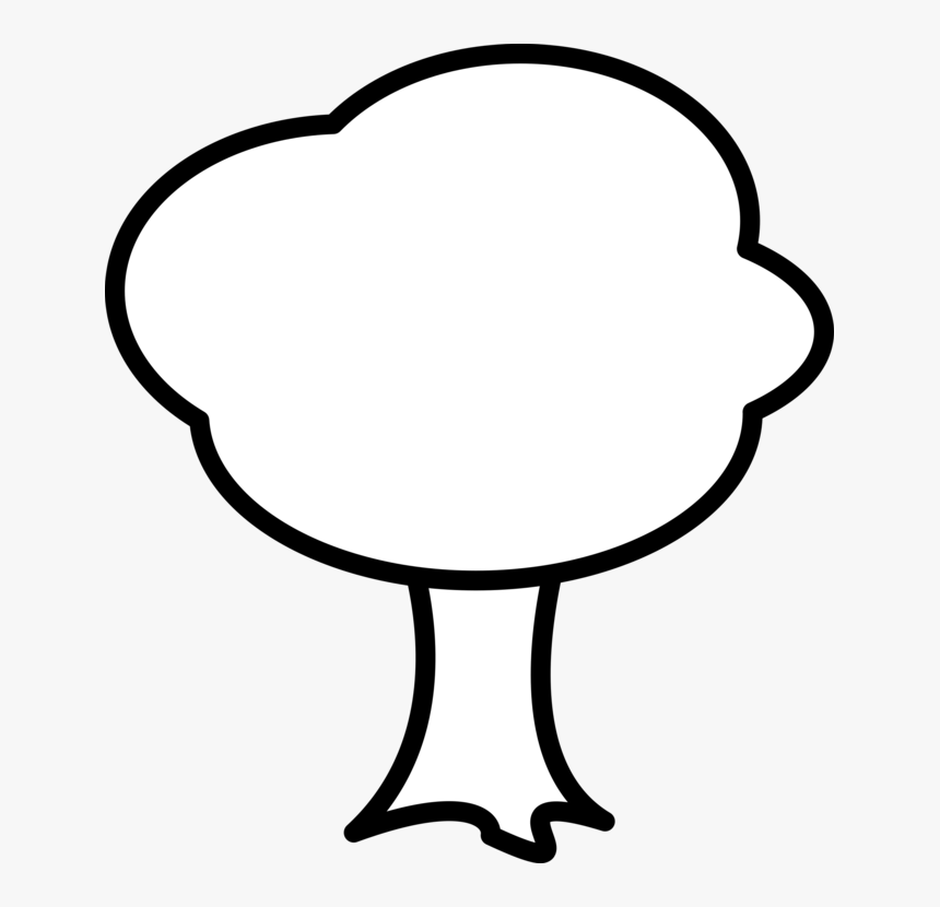 Tree Outline Cliparts Black And White Simple Tree Clipart Hd Png Download Transparent Png Image Pngitem Tree nature leaf cartoon vector clipart. tree outline cliparts black and white