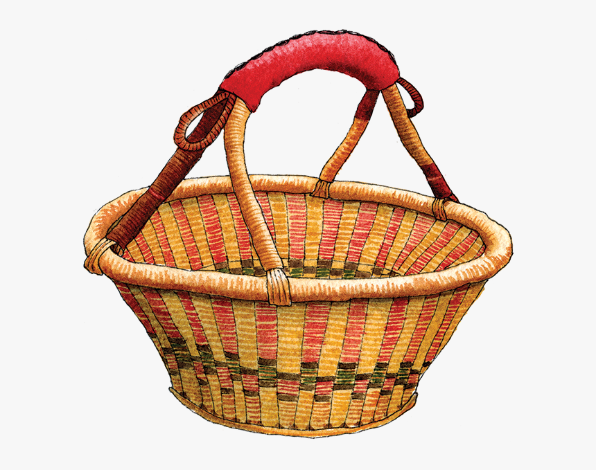 Picnic Basket Cartoon Basket Hd Png Download Transparent Png Image Pngitem