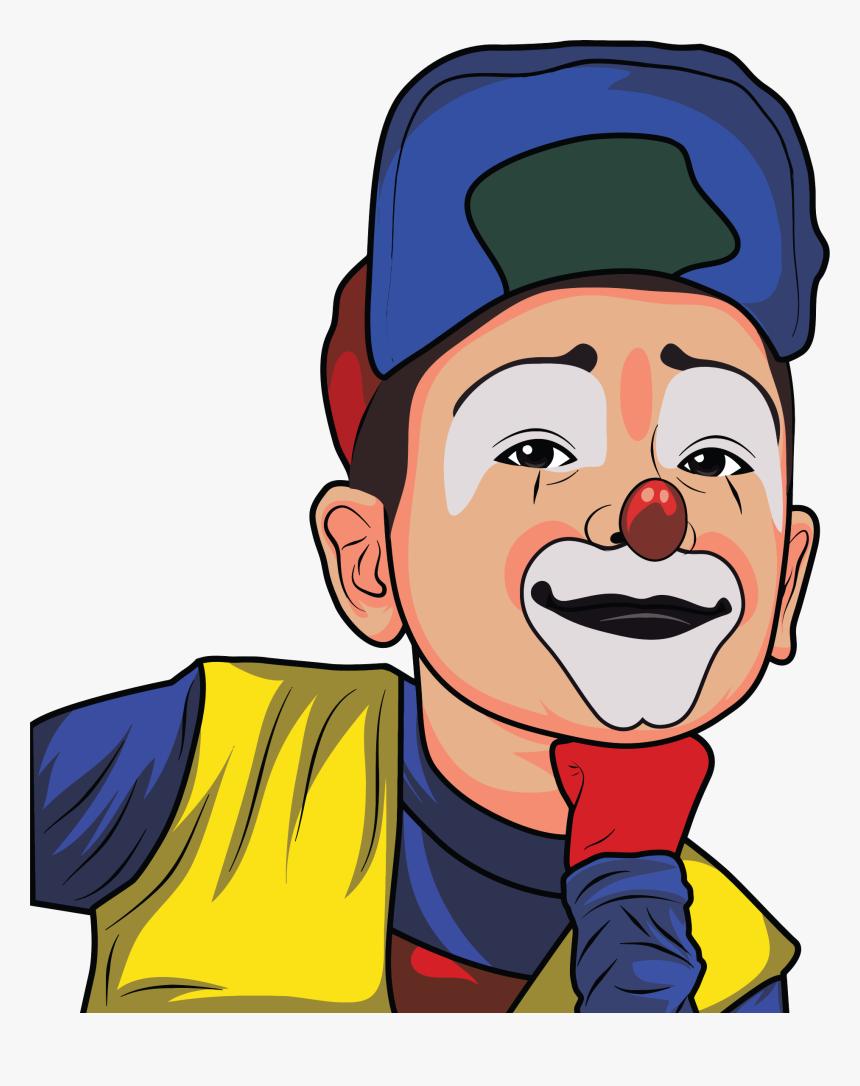 Clown Illustration 2 Clip Arts Gambar Kartun Badut Joker