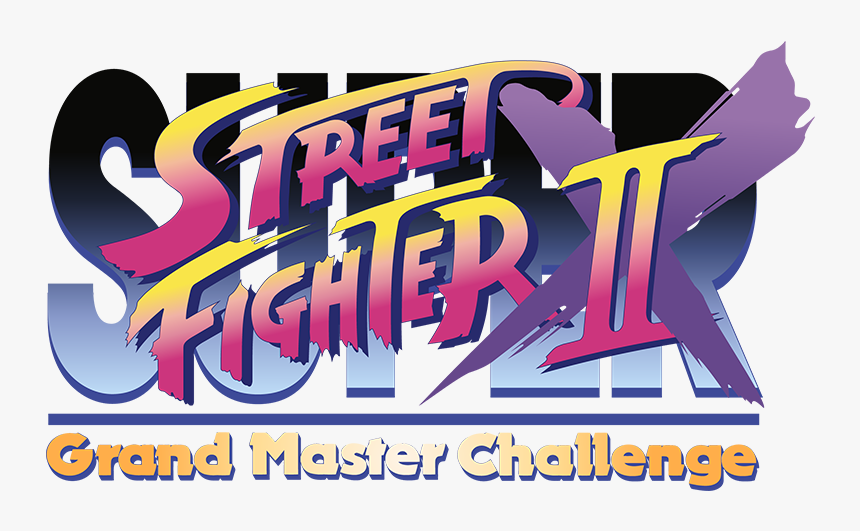 Super Street Fighter Ii X Grand Master Challenge Logo Hd Png Download Transparent Png Image Pngitem