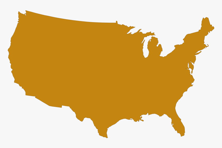 San Francisco On The - United States Map Transparent ...