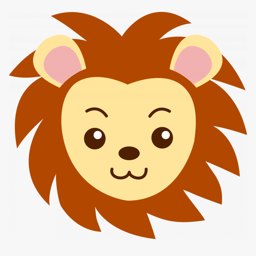 Large Size Of How To Draw A Cartoon Lion Step By Easy Cartoon Lion Face Drawing Hd Png Download Transparent Png Image Pngitem