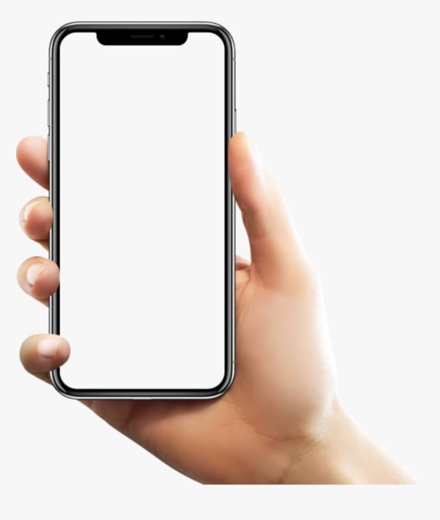 hp handphone mobile frame   Hand Iphone X Png, Transparent Png ...