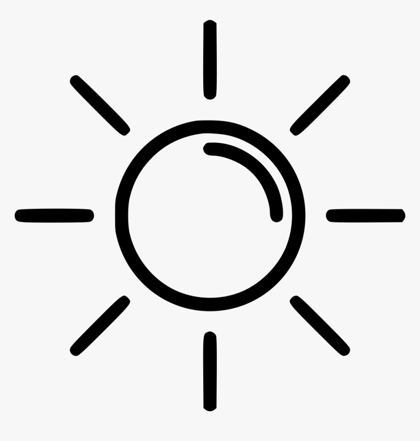Transparent White Sun Png Black Half Sun Transparent Png