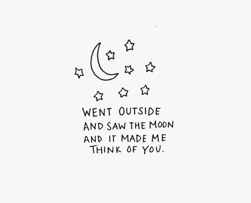 Love Art Cute Quote Tumblr Text Happy Quotes Typography Moon